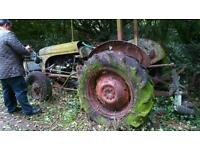 Messy furgeson tractor 1953