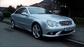 Mercedes Benz CLK220 cdi sport