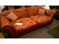 Tetrad Sofa - Large Leather and material Sofa by Tetrad - from Great Yarmouth