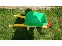 Kids garden toy wheel barrow