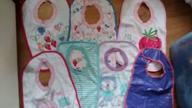 Baby bibs bundle x 7