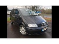 2004 SEAT ALHAMBRA 2.0 REFERENCE •WHEELCHAIR ACCESSIBLE• •1 YEAR MOT•