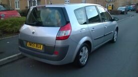 Renault Grand Scenic, 7 Seater, 1.6 litre, 2005, Mot May 2018, 73000 miles, 2 Owners