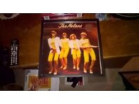 The Nolans..Making Waves..vinyl record in a black frame..