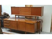 Vintage retro teak mid century Sideboards