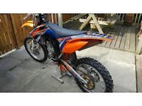 Ktm sxf 450 2011 swap sportbike