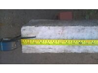Concrete boot lintels