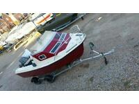 16 feet Fishing boat + trailer