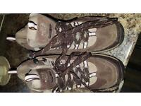 Ladies north face walking boots