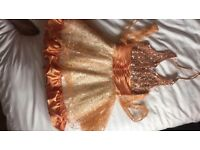 """Magic Fairy party dress with sash for girls aged 6-8yrs size 26"""""""