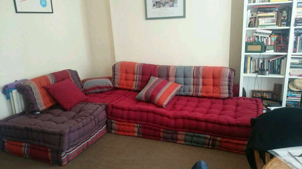 Sofa Day Bed Couch Maisons du Monde Top Condition 5 Seater ...