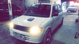 Daihatsu cuore yrv 130 turbo converted not vxr Cupra gti gtd vrs replica fr wrx red top
