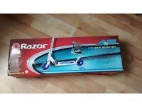 RAZOR A 125 PINK/SILVER KICK SCOOTER, BRAND NEW IN BOX
