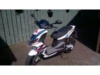 Piaggio NRG 46cc Moped, in good condition, low mileage, MOT Until Dec 2016