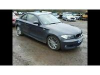 **QUICK SALE** 2008 BMW 120d Coupe M Sport Damaged Salvage not 118d 116d 116i VW Golf A3 Audi