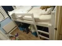 Children's Mid sleeper Bed frame