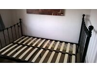 3/4 double bed frame