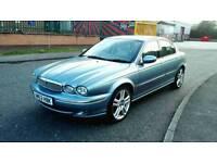 2004 JAGUAR X-TYPE 3.0 V6 SE AUTO AWD L.P.G BLUE LONG MOT FSH VERY LOW MILES STUNNING CONDITION
