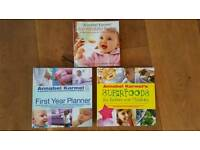 3 Annabel Karmel baby food books
