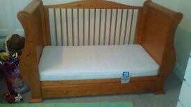 Cot Bed Sleigh Tutti Bambini