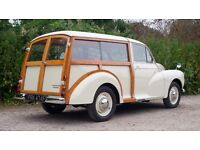 Morris Minor Traveller New Wood Woodframe Kit & Interior