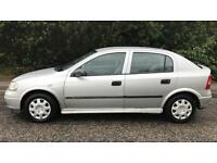 AUTOMATIC VAUXHALL ASTRA 1.6L (2001) year mot low 80k miles