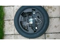 Genuine BMW E60/E61 5 Series Space Saver Spare Wheel Kit