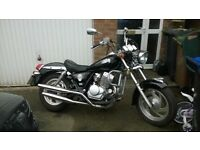 swap for a 125 geared road bike Lifan 250cc twin custom cruiser motorcycle Honda Rebel Replica