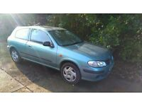 2001 Nissan Almera 1.5i Activ - 12 Months MOT - Reliable Japanese Car