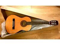 Brand New In Box - Aria AK-20 1/2 Size Classical Guitar
