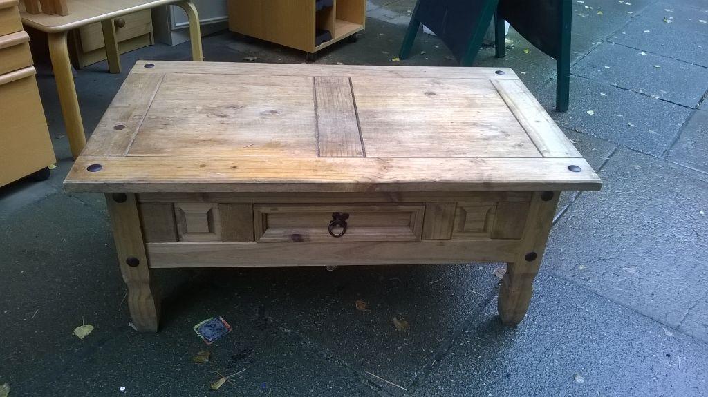 Corona Pine Wood Coffee Table In North Walsham Norfolk Gumtree