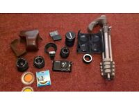 Olympus PM1 pro four thirds digital camera.
