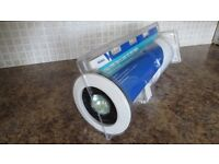 Extractor fan & light kit with timer. Still in packaging.