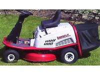 Lawnflit ride on mower