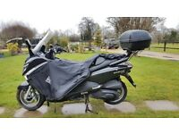 SYM GTS 300 Evo ie Large Scooter Low Miles Top Box Leg Cover Ideal Commuter LED Lights Private Sale
