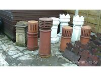 twelve victorian chimney pots and thirty three 1850s victorian roof edgeings very rare