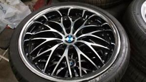 275/30/19 BMW 3 SERIES 19 INCH CHROME WHEELS