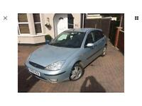 Ford Focus 1.8 TDCi 2003 Diesel 5 doors 119K new clutch 1 year MOT very good condition