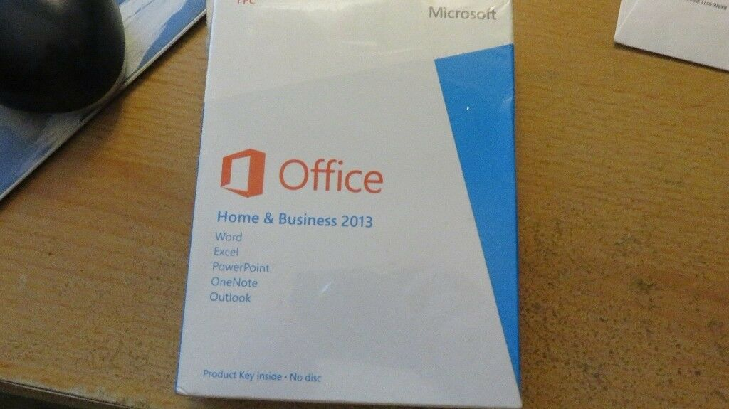 Microsoft Office Home and Business 2013 For 1 PC Key Card Retail Box ...