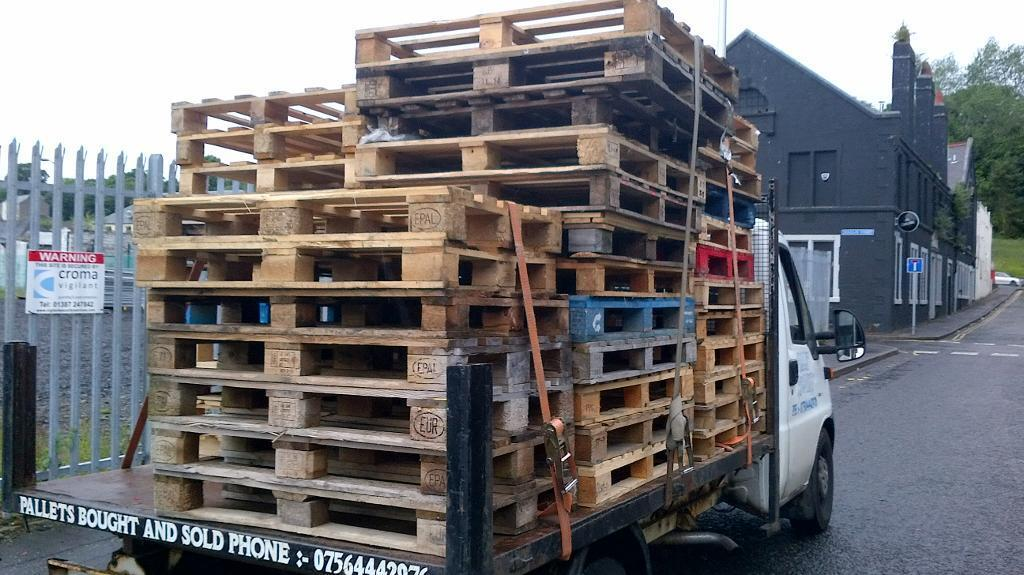 pallets ,ideal for garden furniturein DundeeGumtree - Pallets for sale ideal for garden furniture log stores planters etc etc 5 pounds each can deliver please contact me on 07564442976 or text me sorry no emails replied thanks for looking