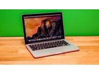 "Macbook Pro retina 2014 . 13"" - i5 - 8GB - 256GB , Final cut , Logic Pro , Office , Adobe"