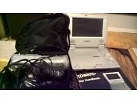 Technika Portable DVD Player with case