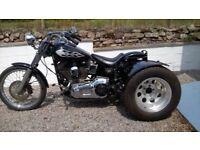 Custom Trike Harley Davidson Softail