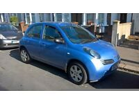 NISSAN MICRA 2005 05 1.2 URBIS AUTOMATIC, 5 DOOR HATCHBACK AUTO, LONG MOT 1695