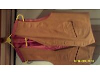 Leather Waist Coats By M&S