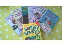 Horrid Henry batch 7 paperbacks