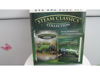 Steam classic collection dvd and book set
