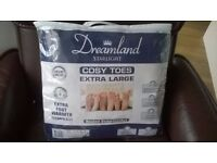 NEW DREAMLAND STARLIGHT COSY TOES ELECTRIC UNDERBLANKET