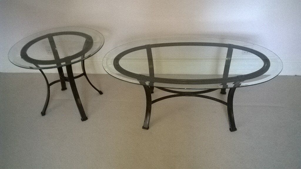 Matching Coffee Table And Side Table Great Condition In London Gumtree
