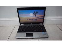 HP Elitebook 8440p Laptop Core i5 @ 2.40GHz, 6GB RAM, 250GB HDD DVDRW Windows 10